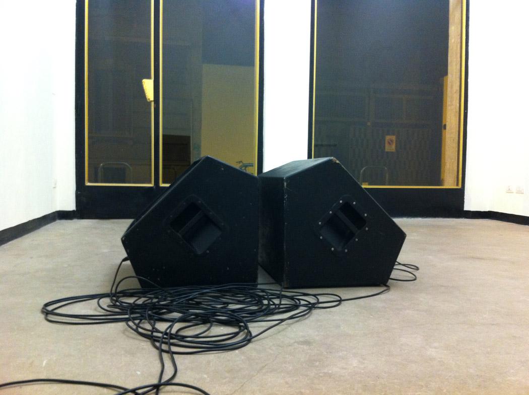 Alberto Tadiello, Melisma, sound installation, 02'58'' loop, 2014