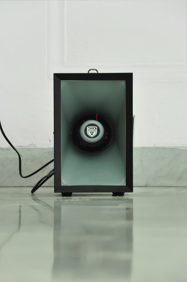Alberto Tadiello, Wile E. Coyote, audio installation 60' loop, 2012