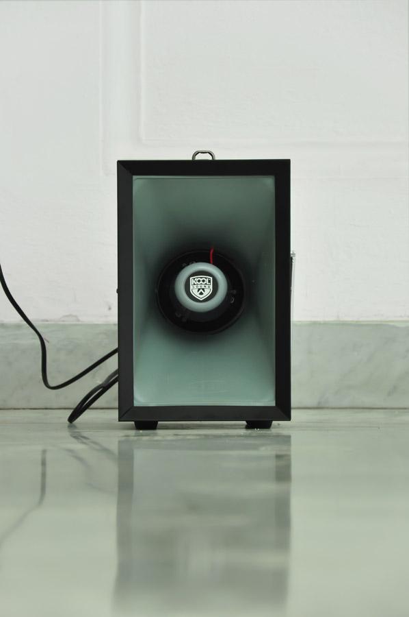 Alberto Tadiello, Wile E. Coyote, audio installation 60' loop, 2012