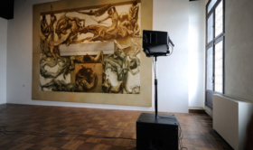 Alberto Tadiello, Untitled (From No Part Of Me Could I Summon A Voice), sound installation, 02'31'' loop, 2012