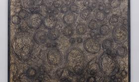 Alberto Tadiello, Ossicodone, tecnica mista su pannello truciolare, cornice in profilato metallico, 190 x 155 cm ciascuno, 2020