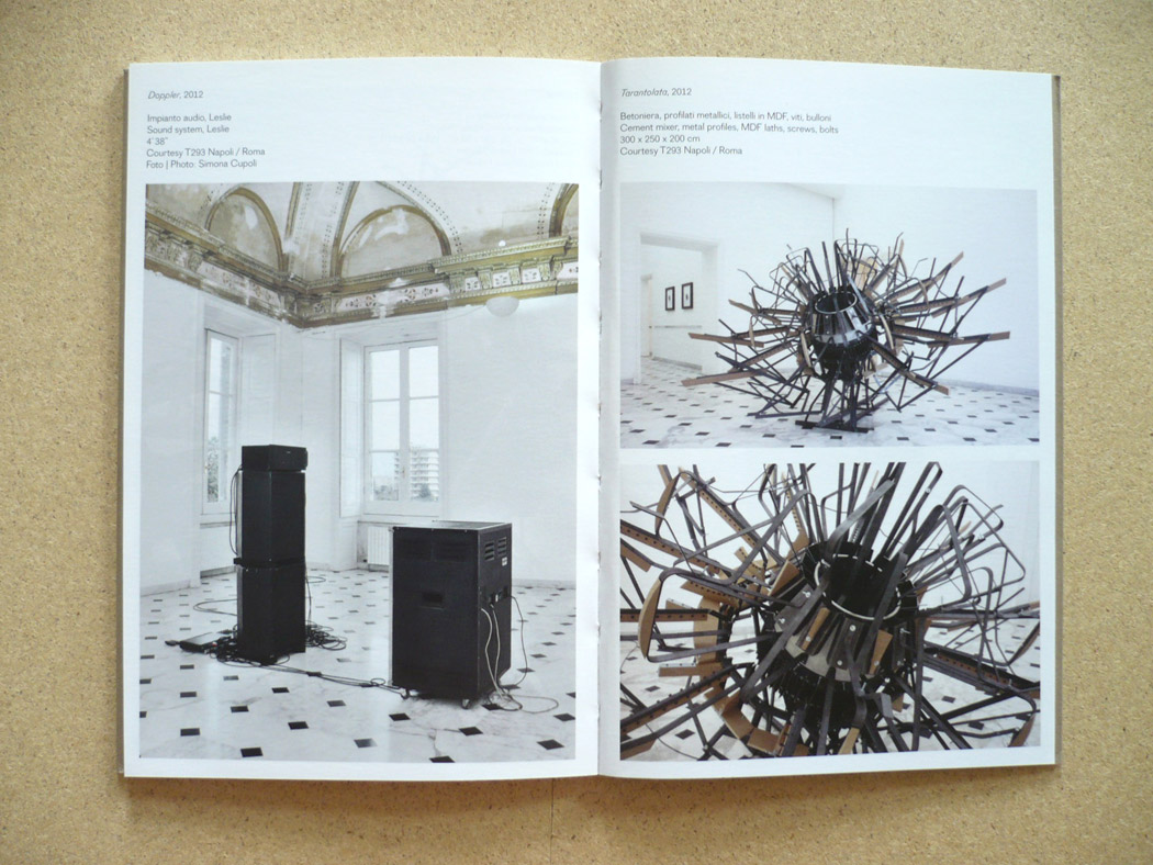 Alberto Tadiello, High gospel, 80 pp., 12 x 18 cm, Mousse Publishing, Milano, 2012