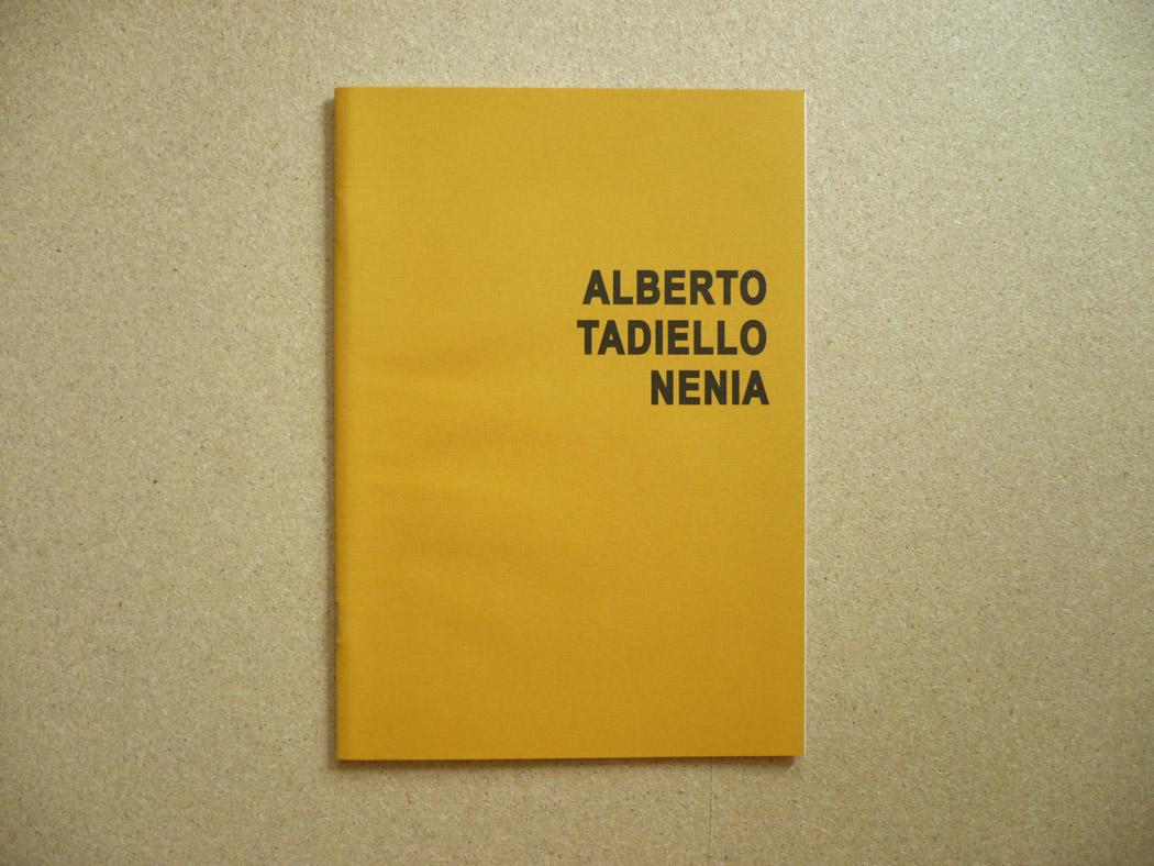 Alberto Tadiello, Nenia